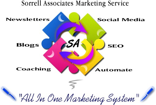 All in one marketing system - newsletters, blogs, social media, seo, branding